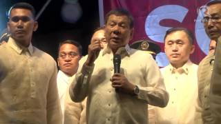 Duterte faces protesters after SONA 2017