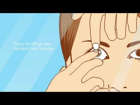 Synsam linser | Så tar du ur dina endagslinser