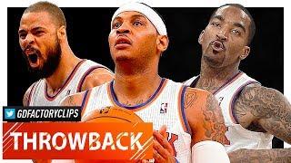 Throwback: Carmelo Anthony, J.R. Smith & Tyson Chandler Highlights vs Warriors (2013.02.27) - SICK!