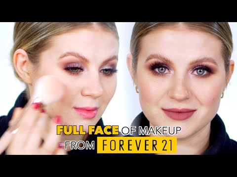 Full Face of MAKEUP from Forever 21