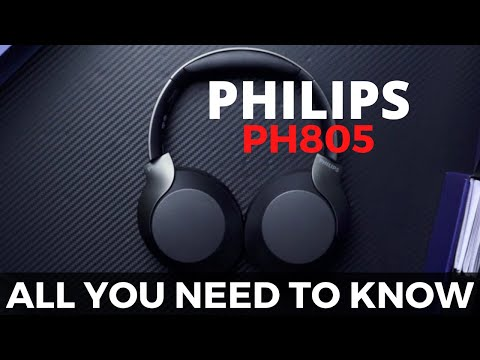 video Philips TAPH805BK (PH805) Wireless Headphones Review: Music Without Unnecessary Noise