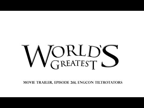 """Preview - engcon on the US TV Show """"World's Greatest!"""