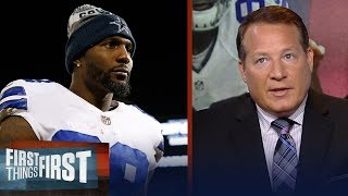 Eric Mangini doesn't think Dez Bryant is a good fit with the Patriots | NFL | FIRST THINGS FIRST