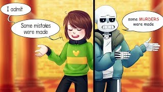 "CHARA, those are not just ""some mistakes""! (Undertale Comic Dub Compilation)"