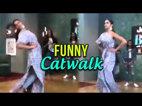 Deepika Padukone's funny catwalk in the presence of sister on BFFs with Vogue