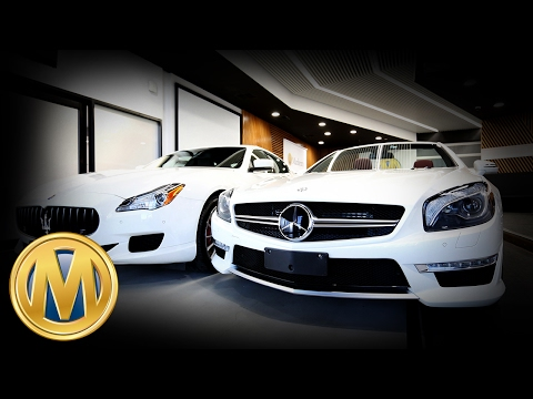 2015 Maserati Quattroporte GTS & 2013 Mercedes-Benz SL 63 AMG Roadster