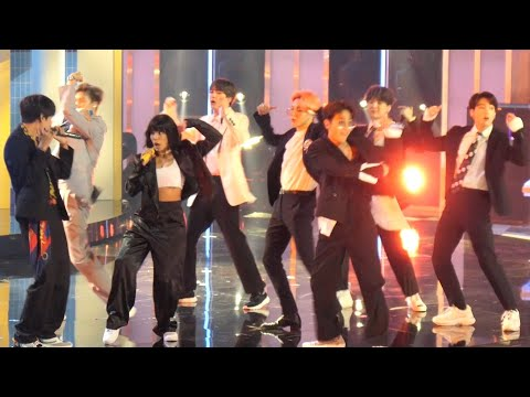 HD 190501 BTS 방탄소년단 Boy with Luv + Halsey @ 2019 BBMAs 빌보드 뮤직 어워드 Live Concert Fancam
