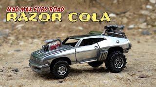Custom Hotwheels Mad-Max car. My first ever made custom!
