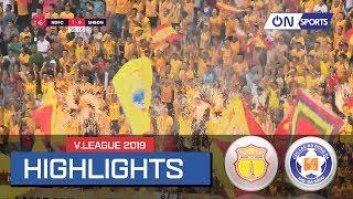 Highlights:  Nam Định giành chiến thắng trước Đà Nẵng trong trận đấu bùng nổ cảm xúc