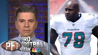 Would Miami Dolphins trade Laremy Tunsil for Jadeveon Clowney? | Pro Football Talk | NBC Sports