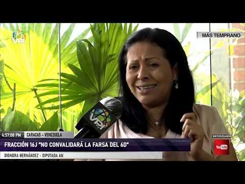 """Caracas - Fracción 16J """"no convalidará la farsa del 6D"""" - VPItv"""