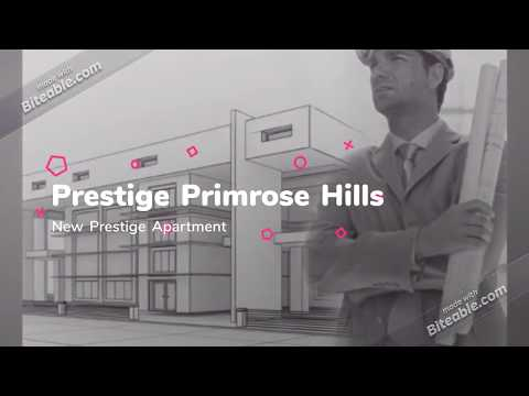 Prestige Primrose Hills Prelaunch Apartment