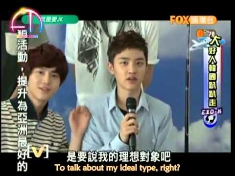 [EXO E.T. Team][Eng Sub]120904 EXO-K Just Love JK