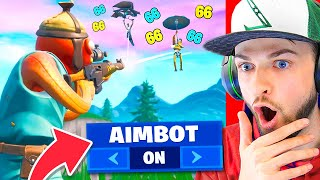 Fortnite AIMBOT turned ON! (CRAZY)
