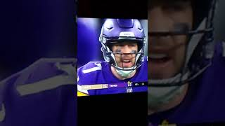 REACTION TO CASS KEENUM GAME WINNING DRIVE ON NEW ORLEANS SAINTS NFL PLAYOFF!