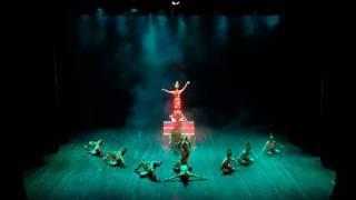 Múa tác phẩm múa :Vọng Chăm BĐMúa Trần Thuỳ Linh