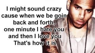 Love More by Chris Brown ft  Nicki Minaj Lyrics