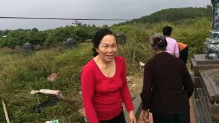 Khánh thành mộ ông Nguyễn Văn Sửu que Trung Chính, Gia Lương