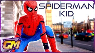 Spiderman Kid Beats The Bullies