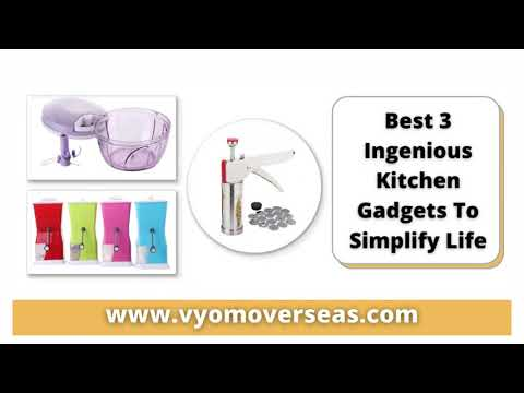 Best 3 Ingenious Kitchen Gadgets To Simplify Life | Vyom Overseas