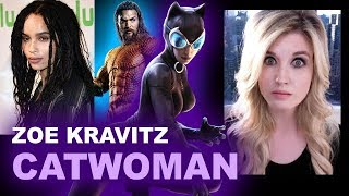 Zoe Kravitz cast as Catwoman - The Batman 2021