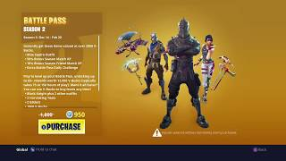 Fortnite: Buying the Season 2 Battle Pass (Old)