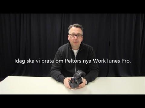 Hörselkåpa Peltor WorkTunes Pro