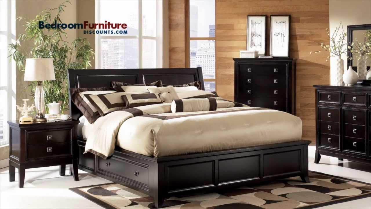 Ashley martini suite platform storage bedroom set youtube - Ashley furniture bedroom dressers ...