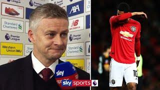 Solskjær confirms extent of Rashford's back injury | Liverpool 2-0 Man Utd Post Match