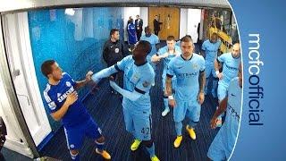City 1-1 Chelsea | TUNNEL CAM | Barclays Premier League 14/15
