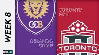 Orlando City B vs. Toronto FC II: May 17th, 2019