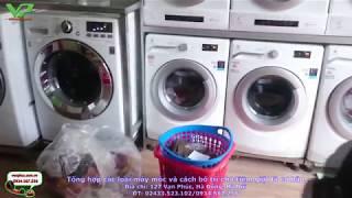 Tổng hợp các loại máy móc và cách sắp xếp cho tiệm giặt là cơ bản