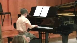 Spring 2017 Piano Recital - Zachary