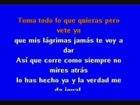agapornis   corre corazon  karaoke cumbia