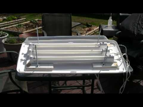 How To Build A Very Inexpensvie Grow Light System Youtube