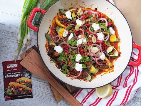 Co na obiad: Cukinie faszerowane mięsem z meksykańską salsą