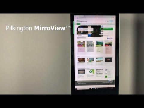 Pilkington 𝗠𝗶𝗿𝗿𝗼𝗩𝗶𝗲𝘄™, lo specchio trasparente per la comunicazione interattiva e per la tua TV