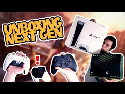 Xbox Series X & Playstation 5 Unboxing!