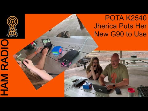 HAM RADIO: POTA K-2540 Xiegu G90 Gets Put to Use!