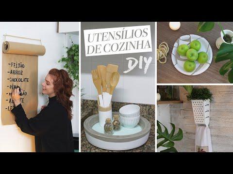 5 DIY's Cozinha Decor/Utilidades
