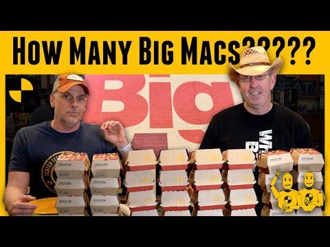 The Dummies attempt Joey Chestnut's Bic Mac World Record Attempt