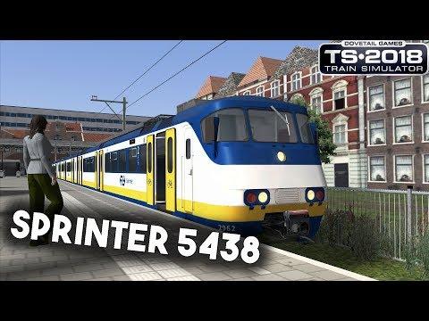 Train Simulator 2018 Sprinter 5438 van Zandvoort aan Zee