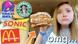 Letting Fast Food Employees DECIDE What I Eat for 24 HOURS!