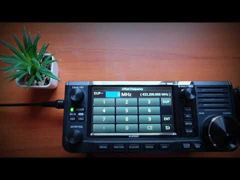 Icom 705 add a hotspot channel