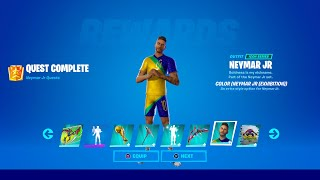 How to Unlock All Neymar Jr Rewards in Fortnite (All Neymar Jr Challenges)