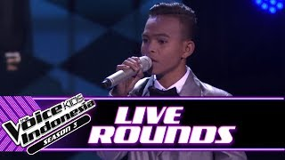 """Octrin """"All I Ask""""   Live Rounds   The Voice Kids Indonesia Season 3 GTV"""
