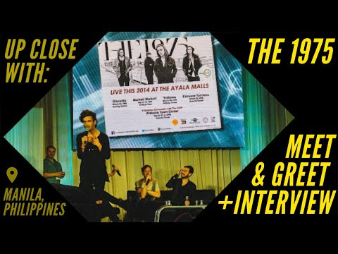 The 1975 Meet and Greet in The Philippines (the entire Q&A portion) at Alabang Town Center