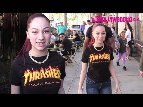 Bhad Bhabie Speaks On RiceGum, Jake Paul & Tekashi 6ix9ine At Fan Meet Up On Rodeo Drive 3.29.18