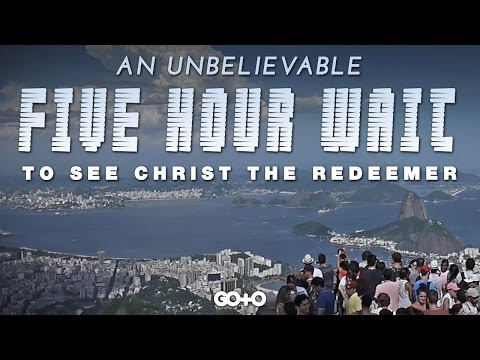 Travel Vlog: Our 5-Hour Wait to See Christ The Redeemer in Rio de Janeiro