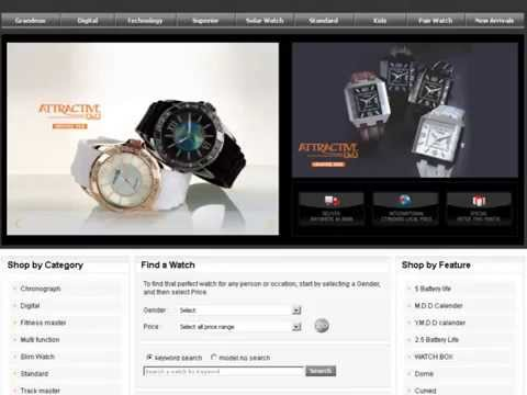 Arokia IT Pvt Limited Portfolio Q and Q Watches Online